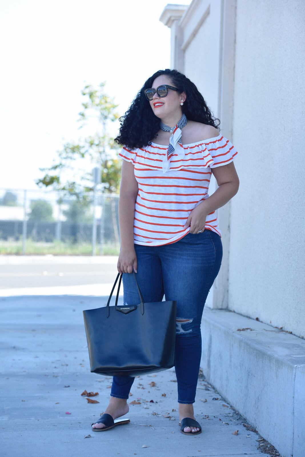 An Americana Inspired Color Combo via @GirlWithCurves