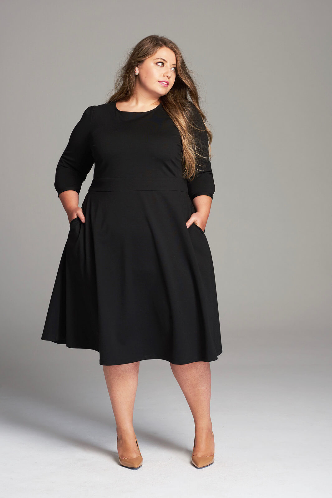 Girl With Curves Fall 2017 Little Black Dress