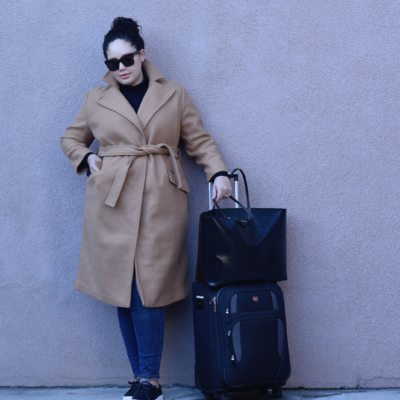 ​Casual Travel Style Via @GirlWithCurves #fashion #style #outfits #travelstyle