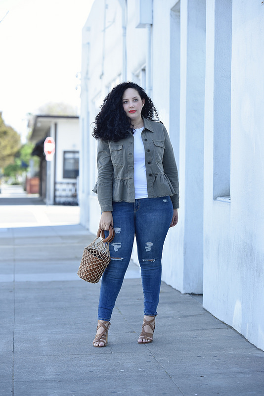 My Favorite Way to Top off a Casual Look via @GirlWithCurves #style #fashion #outfits #ootd