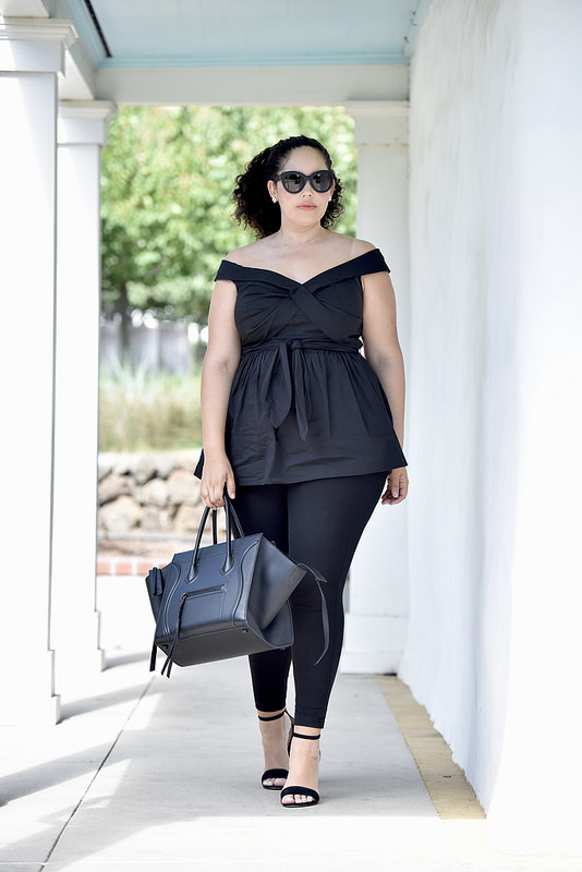 4 Rules for Mastering All Black via @GirlWithCurves #style #fashion #tips