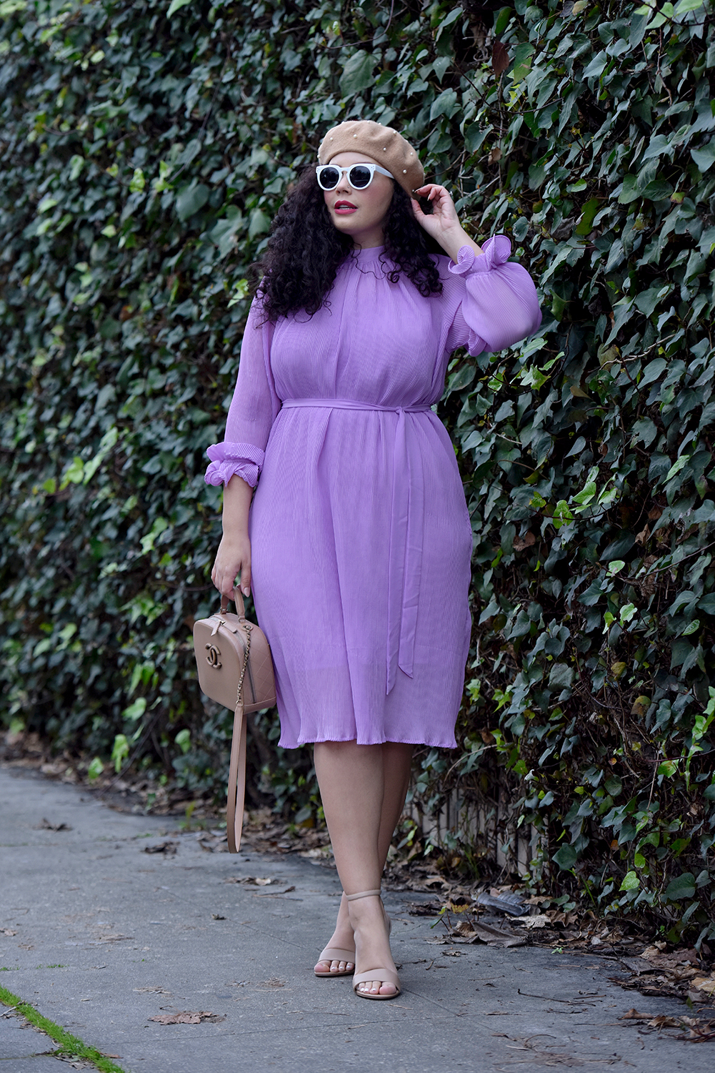 This Is How I'm Styling Midi Dresses Right Now Via @GirlWithCurves #dresses #midi #outfits #fashion #style