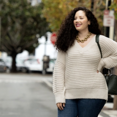 My Go-To Cold Weather Outfit Via Girl With Curves #plussizefashion #curvyfashion #plussizejeans #curvyoutfits #curvyconfidence #bopo #bodypositive #plussizeoutfits
