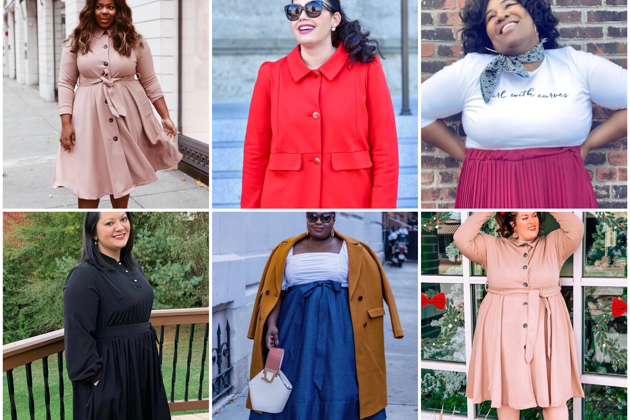 GWCstyle Winter 2020 Edition #plussizefashion #curvyfashion #curvyconfidence #bopo #girlwithcurves