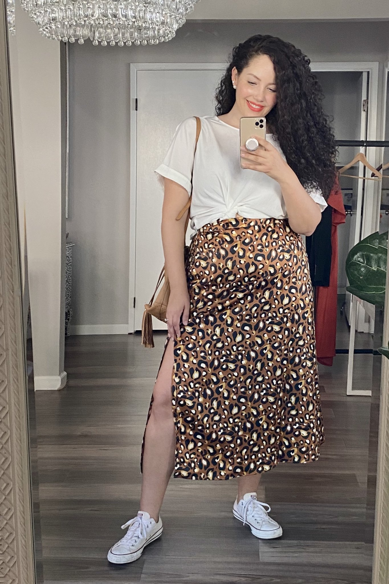 4 Ways to Style a Leopard Skirt | Girl with Curves