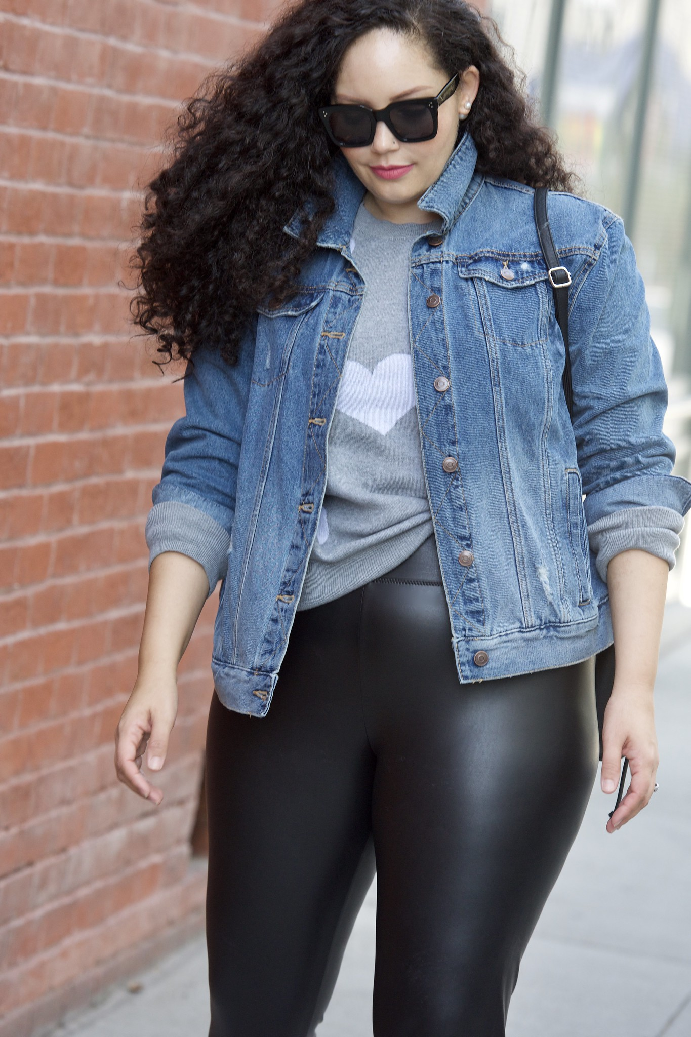 These $23 Faux Leather Leggings are a Must-Have | Girl with Curves