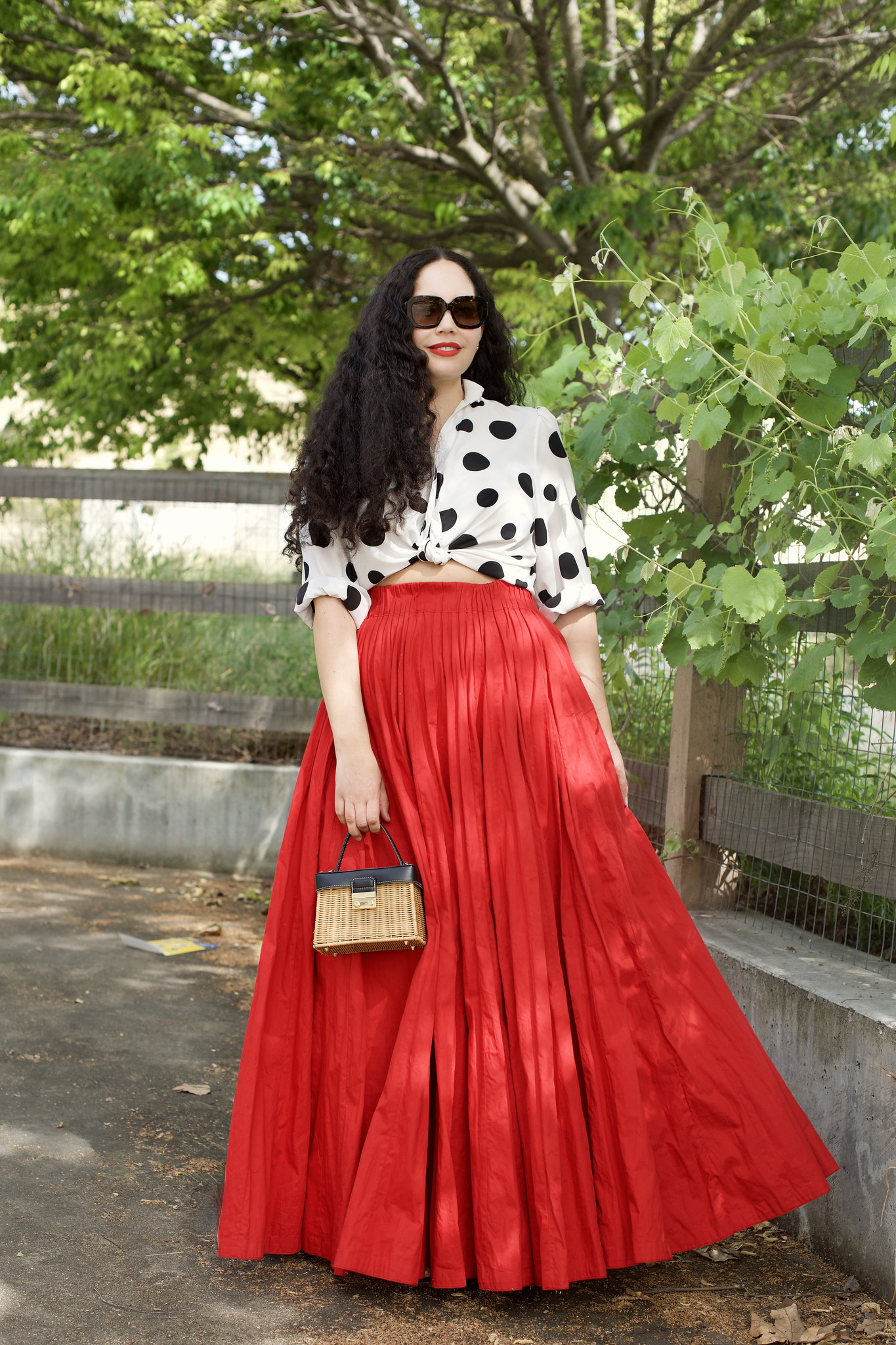 Wearing the Maxi Skirt of my Dreams | Girl with Curves