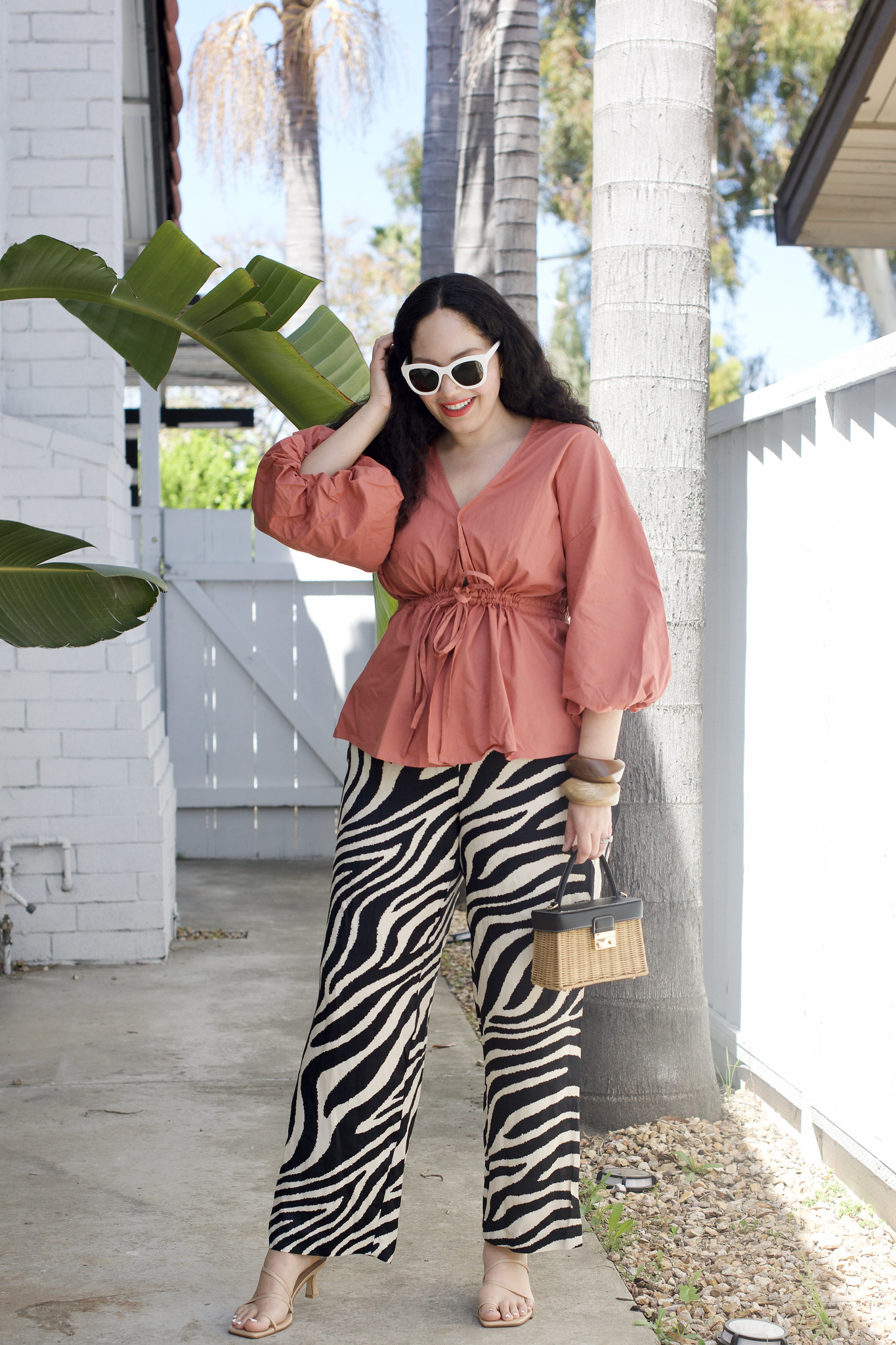 How I'm Styling Printed Pants | Girl With Curves